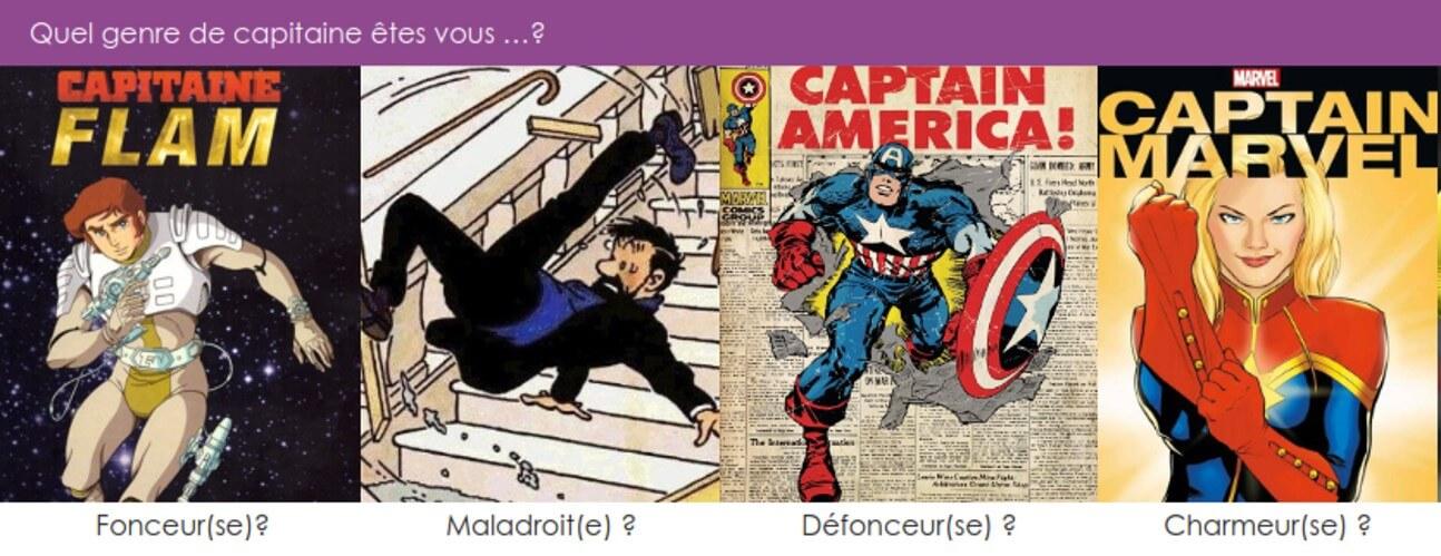quel capitaine êtes vous?