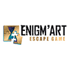 logo enigm'art escape game
