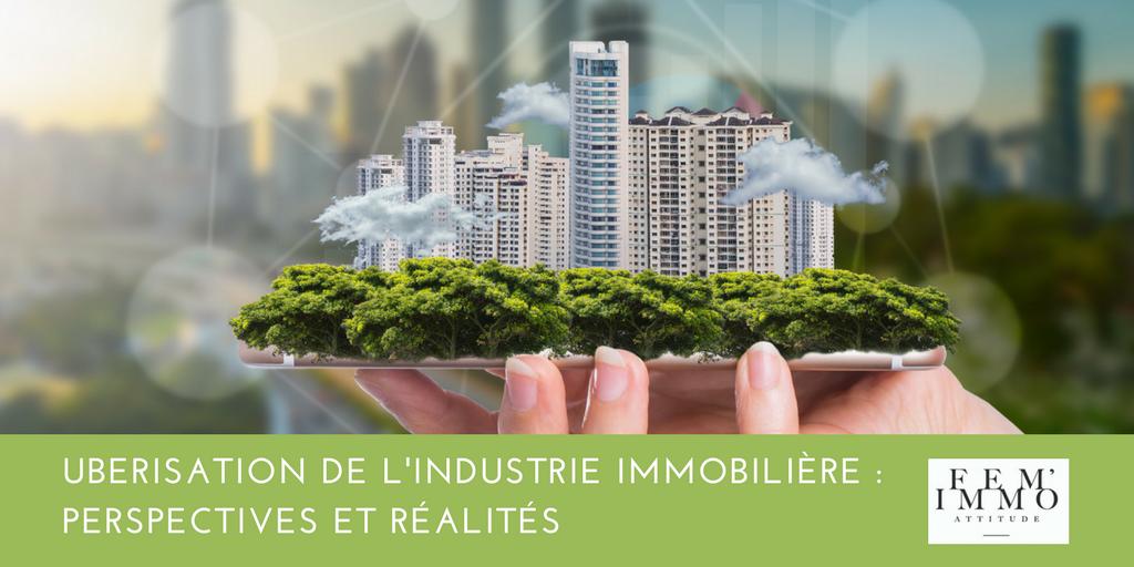 Article l'ubérisation de l'industrie immobilière par MBD Open Marketing