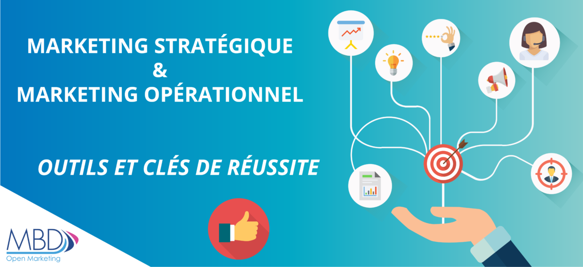 Marketing stratégique et Marketing opérationnel : outils de la réussite